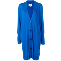 Mm6 Maison Margiela Cardigan Oversized Azul
