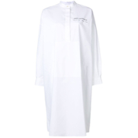 Mm6 Maison Margiela Chemise 'under Construction' - Branco