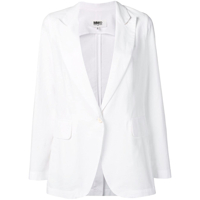 Mm6 Maison Margiela Classic Formal Blazer - Branco