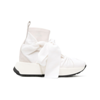 Mm6 Maison Margiela Knot Sock Sneakers - Branco