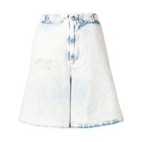 Mm6 Maison Margiela Short Oversized - Azul