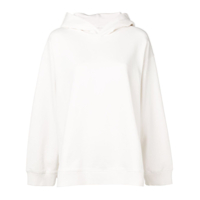 Mm6 Maison Margiela Moletom Oversized Com Estampa - Branco