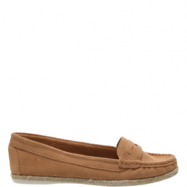 Mocassim Camurcina Tom Natural Tan | Arezzo