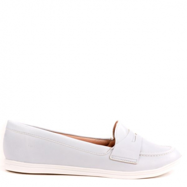 Mocassim Cotton Liso Azul 36