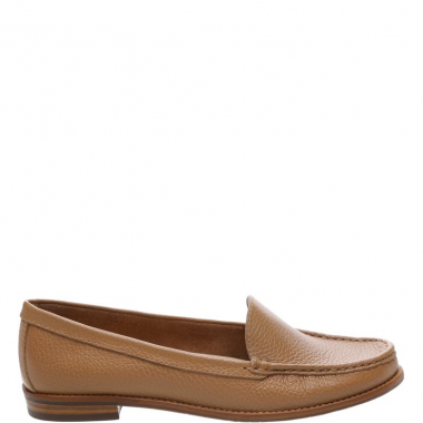 Mocassim Couro Cool Natural Peach | Arezzo
