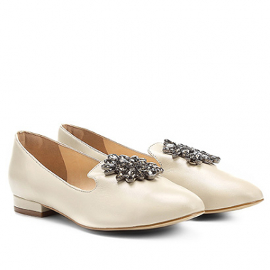 Mocassim Shoestock Slipper Pedraria