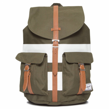 Mochila Dawson Forest Night Rugby Stripe - Verde