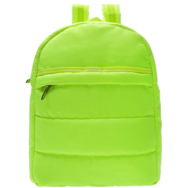 Mochila Fluffy Neon Yellow | Schutz