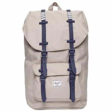 Mochila Unissex Little America Light Khaki - Cinza