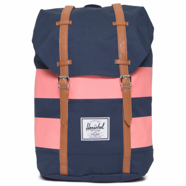 Mochila Retreat Navy Rugby Stripe - Azul