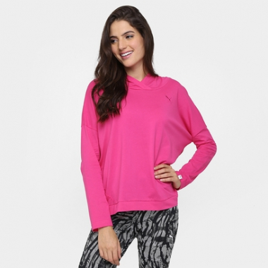 Moletom Puma Ess Cover Up Feminino-Feminino