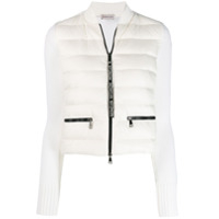 Moncler Cropped Padded Jacket - Branco