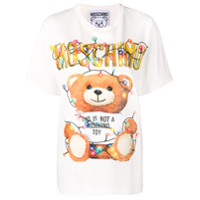 Moschino Camiseta Com Estampa - Branco