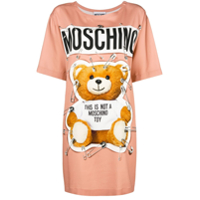Moschino Camiseta Com Estampa Do Urso Teddy - Rosa
