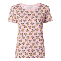 Moschino Camiseta Com Estampa Teddy Bear - Rosa