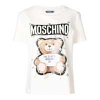 Moschino Camiseta 'teddy Bear' - Branco