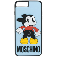 Moschino Capa Para Iphone 6/6S/7/8 Plus 'vintage Mickey' - Azul