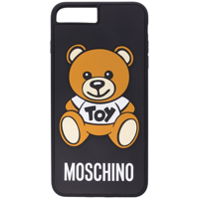 Moschino Capa Para Iphone 7 Plus 'bear' - Preto