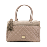 Moschino Cheap & Chic Quilted Tote Bag - Marrom