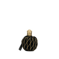 Moschino Clutch Head Lion - Preto