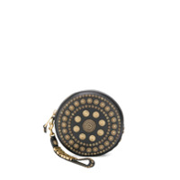 Moschino Clutch Shield - Preto