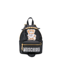 Moschino Mochila Com Patch 'teddy Bear' - Preto