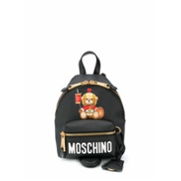 Moschino Mochila Teddy Bear Mini - Preto