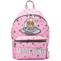 Moschino Space Teddy Backpack - Rosa