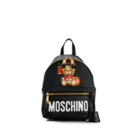 Moschino Teddy Bear Backpack - Preto