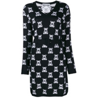 Moschino Vestido Slim Teddy Bear - Preto