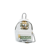 Moschino Teddy Bear Mini Backpack - Branco