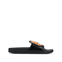 Moschino Teddy Bear Slides - Preto