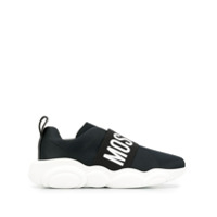 Moschino Tênis Slip-On Teddy - Preto