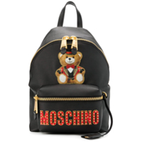 Moschino Toy Bear Backpack - Preto