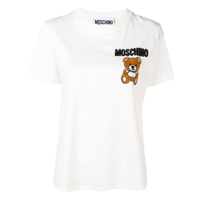 Moschino Camiseta Toy Bear - Preto