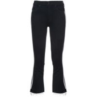 Mother Calça Jeans Cropped - Preto