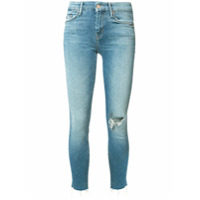 Mother Cropped Jeans - Azul