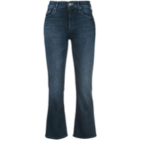 Mother The Outsider Crop Jeans - Azul