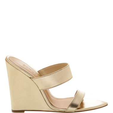 Mule Fresh Metallic Gold | Schutz