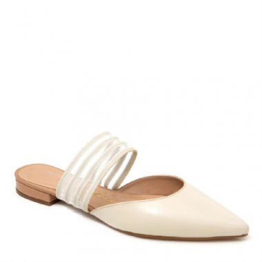 Mule Luciana Off White