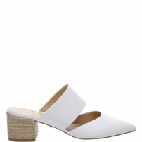 Mule Natural White | Schutz
