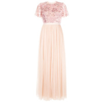Needle & Thread Vestido De Festa Dream Rose - Rosa