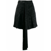 Neil Barrett Short Cordon - Preto