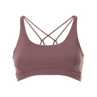 Nimble Activewear Top Esportivo Flow And Go - Roxo