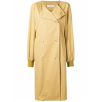 Nina Ricci double-breasted trench coat - Neutro