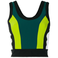 No Ka' Oi Blusa Color Block - Verde