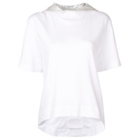 No Ka' Oi Blusa De Moletom Color Block - Branco