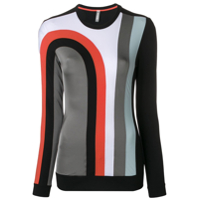 No Ka' Oi Camiseta Esportiva Color Block - Preto