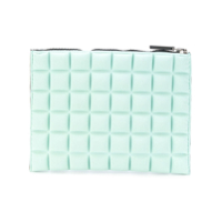 No Ka' Oi Clutch Mini Com Textura - Azul