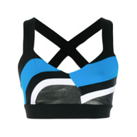 No Ka' Oi Top Esportivo Cropped - Azul
